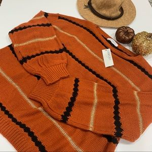 Fall colors boutique sweater